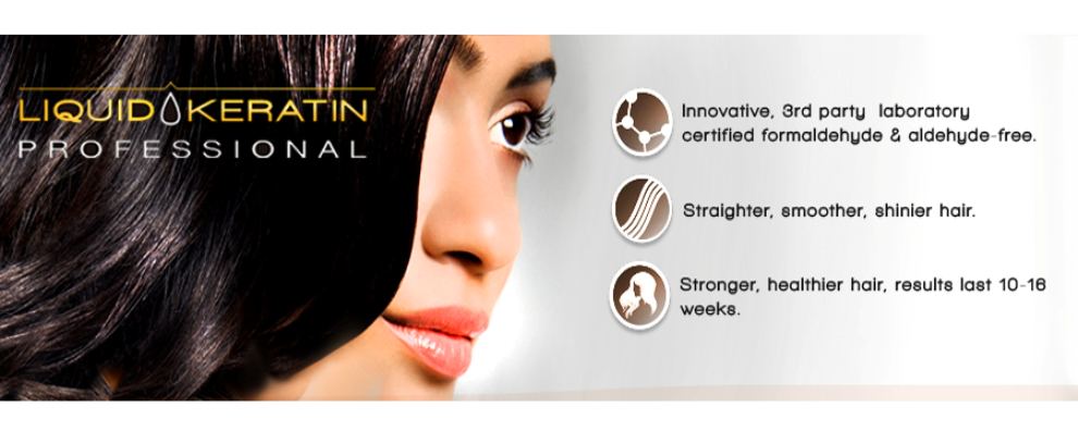 Liquid Keratin Professional Smoothing Treatment is a revolutionary and safe treatment. It eliminates up to 95% of frizz while making curly hair more manageable. It instantly adds amazing shine, silkiness and condition to the hair. Raigen's Hair Studio in Vancouver, BC, Canada.