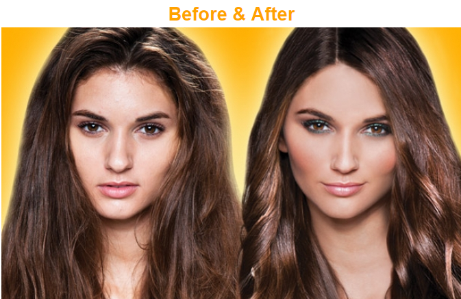 GKhair before and after photos of 'The Best' hair taming treatment. It eliminates the frizz while making curly hair more manageable. Now offered by hair by raigen in Vancouver, BC, Canada.
